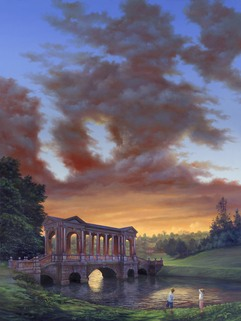 164 Sunset at Prior Park